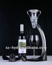 Angel shape with two holder Wine Decanter