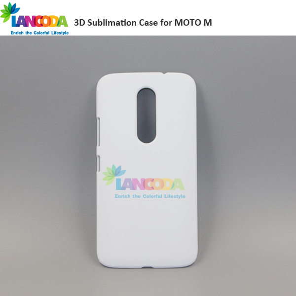 New diy sublimation 3D Printing phone case for MOTO M