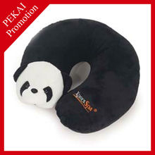 Plush panda design 3D baby beanbag bath pillow