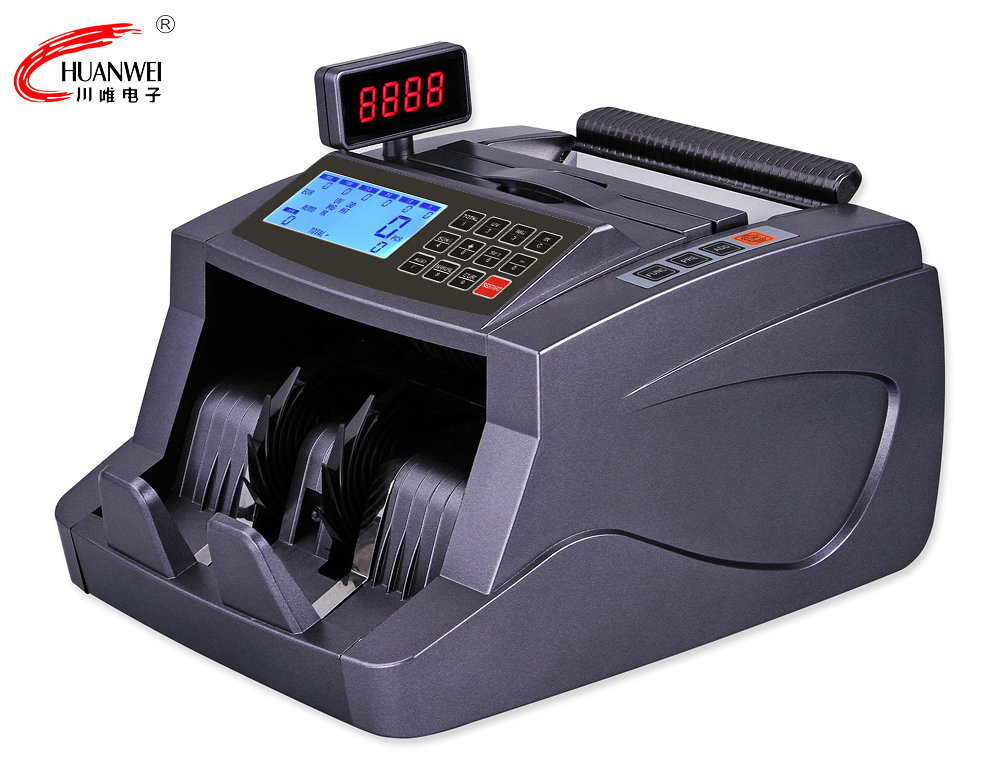 EURO Bill Counter Valur Counter Cash Counting Machine for Supermarket