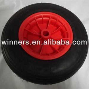 4.00-8 high quality pneumatic beach cart wheels