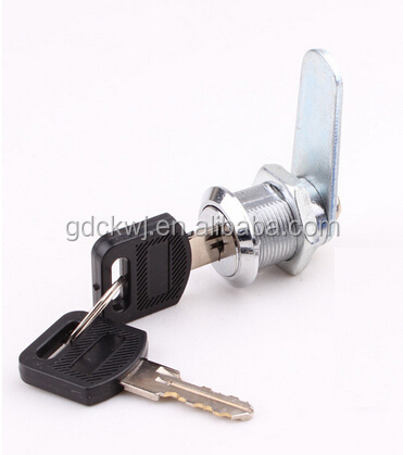 China manufacturer metal cabinet door lock cabinet cam drawer lock with hook plate
