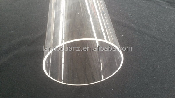 Best quality Cheapest translucent quartz glass tube pipe