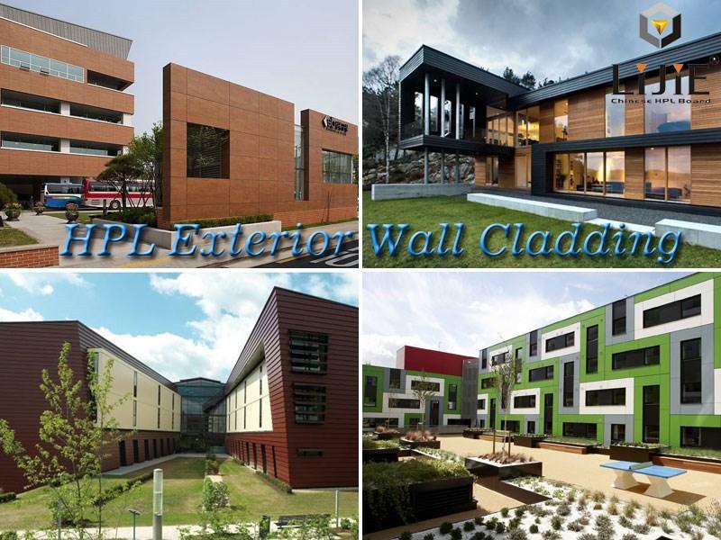 2015 Modern Decorative Material Exterior Wall Hpl Panel