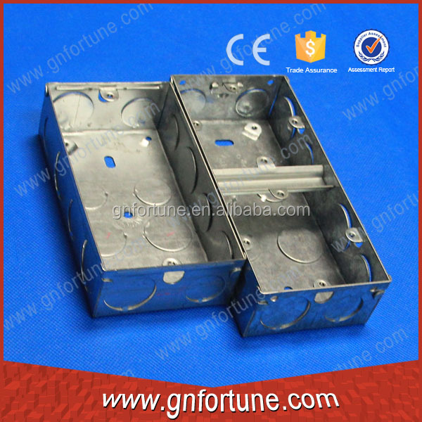 Square Electrical Waterproof Metal Junction Knockout and Switch Box