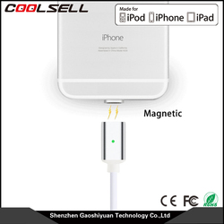 Magnetic USB Cable High Speed Sync and Quick Charging Core with LED Status Display Support One - Handed Operation