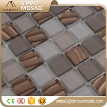 Cold Spray Copper Gold 30X30Mm Bedroom Wall Vidrepur Glass Mosaic