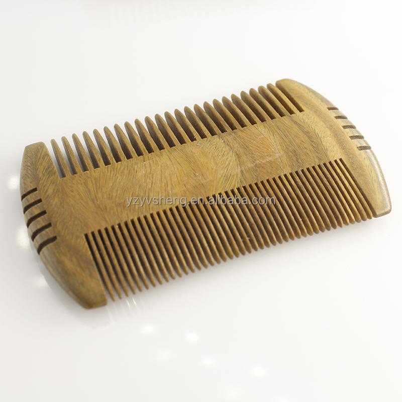 The wood boar bristle beard brush and comb wholesale OEM custom with hair brush