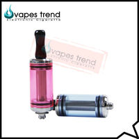 China Supplier Glass DCT Atomizer Match 510/ego Battery Rebuildable Atomizer For 6ml Large Capacity