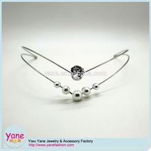 New design hairbands with beads and rhinestone headband