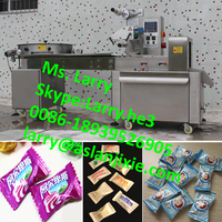 chocolate packaging machine/toffee wrapping machine/chocolate bar packing machine