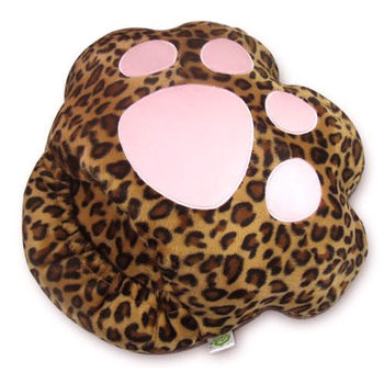 USB Shoes Foot Warmer Heater Bear Paw Slippers