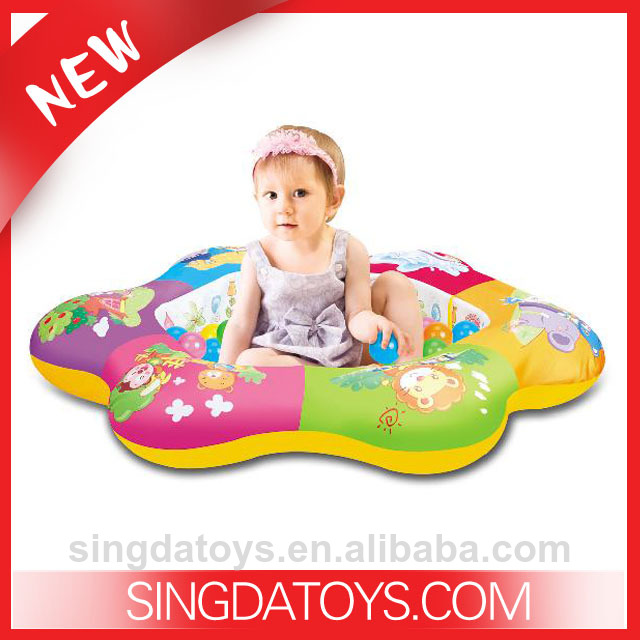 Hot Sale Toys Flower Type Baby Inflatable Cushion
