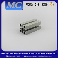 MEICHENG-Strict QA/QC Meet All Require mill finished mj industrial alloy aluminum profile