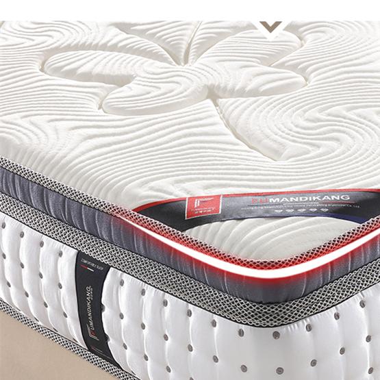 Memory Foam And Inner Spring Hybrid Mattress With Certified Foam - Jozy Mattress   Jozy.net