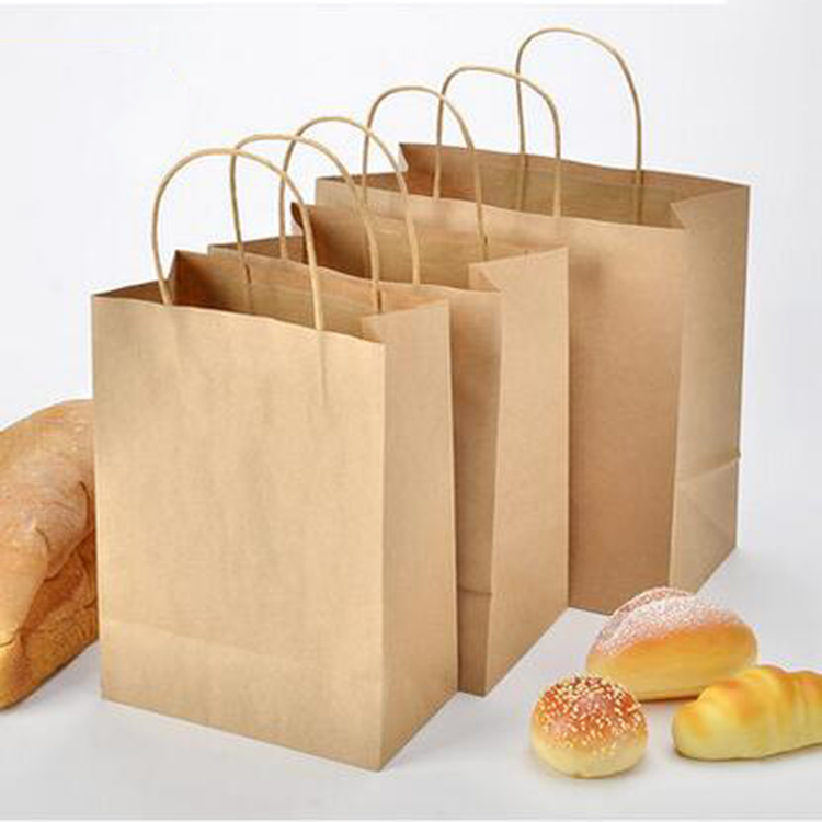 Kraft paper string for bags holder Gift and bags paper handle rope