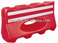 Red temporary Traffic Barriers