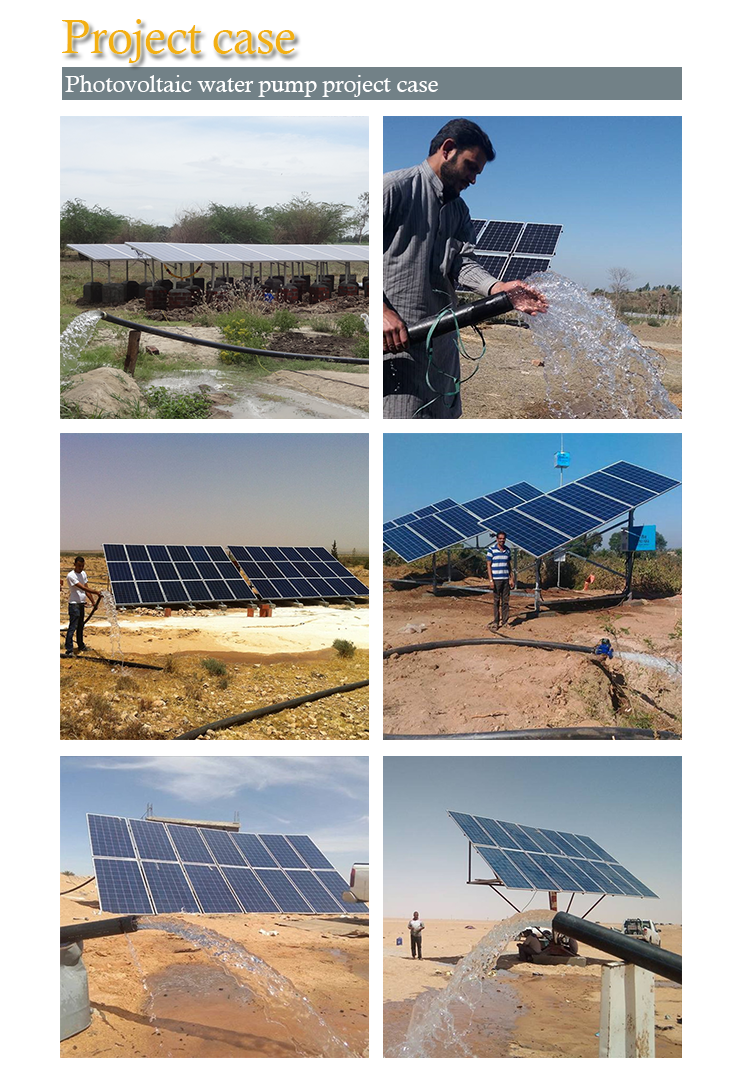 Price 50Hp Heavy Duty Solar Water Pump & Solar Panels For Agriculture