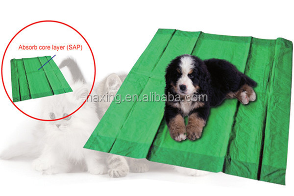 Petting Pads Use Super Absorbent Polymer