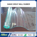 2mm Thickness high quality clear blue PVC door curtain