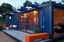 garden sheds use shipping container house/prefabricated house design