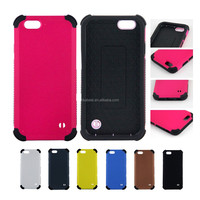 Double Armor Shockproof Mobile Phone Case for iPhone 6Plus/6/5s/5/4s/4, for Samsung Note3/S5 i9600/S4 i9500, for LG G2/G3 Covers