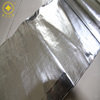 Promotional thermal reflective aluminum foil insulation laminated woven fabric for attic roof insulation