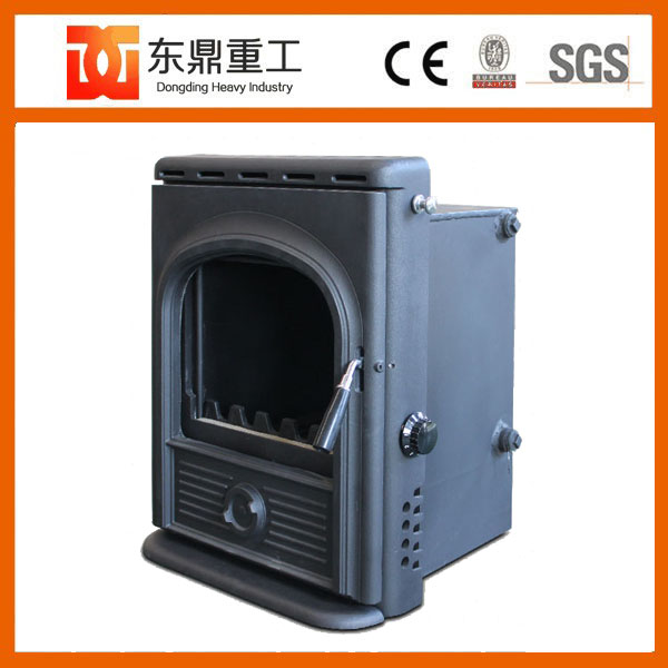 Cast iron insert wood pellet stove/wood stove fireplace form China supplier