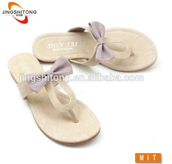 Knolhapuri fancy girls beach chappal flip flop