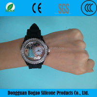 Cheap Kid Silicone Quartz Wrist Watch Alibaba China Special Price Bell And Rose Quartz Watches