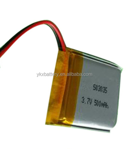 lipo battery Small Battery Rechargeable 3.7v 500mah lithium polymer battery 503035