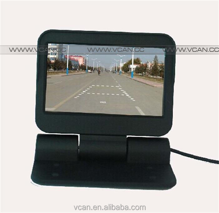 VCAN0998 used lcd monitor Auto Electric flip 4.3 inch LCD Color Car Monitor