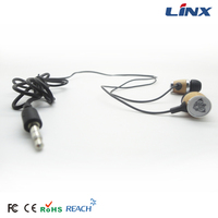 Newest wonderful stereo wood earphones 3.5MM Stereo earbuds
