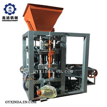 automatic hydraform brick block making machine small building hollow blocks making machines for home business concrete machine