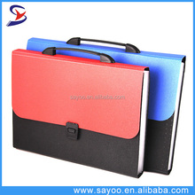 Office stationery PP Expanding File document file folder with Button