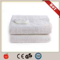 super soft blanket fleece fabric healthy and safe portable Electric heated Blanket