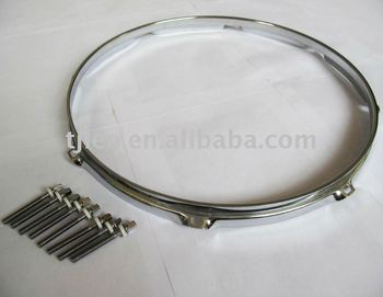 Die Cast Chrome Drum Hoop/ Triple Flanged Snare Rim