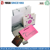All Kinds of Cosmetic Paper Bag and Box with Customer Logo