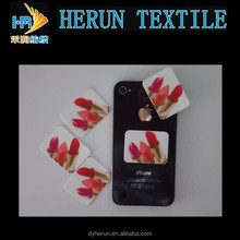 Durable and adhesive microfiber screen cleaner for mobile phone!