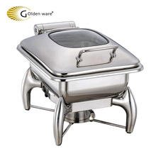 Golden Ware SS 304# stainless steel buffet kitchen equipment electric dish food warmer