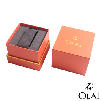 Customer Design Packaging Paper Boxes Cases Logo, Watch Box