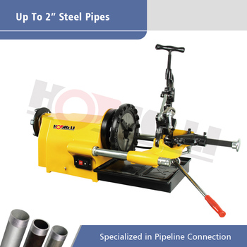 Low Noise Compact Pipe Thread Cutting Machine