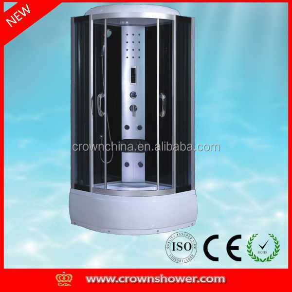 shower cabin,economic hot sale shower room green laser and flashlight combo