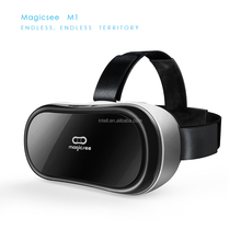 Magicsee VR 3d Glasses blue film hot video google All in one VR headset than bobo vr z5