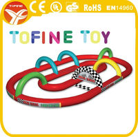 fun kids toy cars inflatable race track for sale