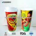 Huge mixed fruit juice paper cups