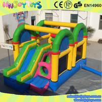 School bouncy games inflatable playground balloon, kids inflatable jumping balloon