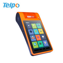 Programmable Android Pos terminal Sport Betting Machine Loyalty Card Terminal With 58mm POS Printer