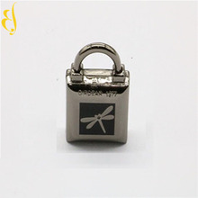 Fashion Mini Cute luggage combination cosmetic bag kiss lock metal carport textile bag strap accessories For Briefcase