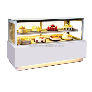Air Cooling Small Refrigerated Bakery Display Case Cabinet